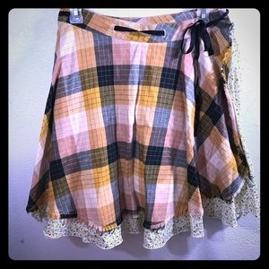 Free People Wrap Skirt XS